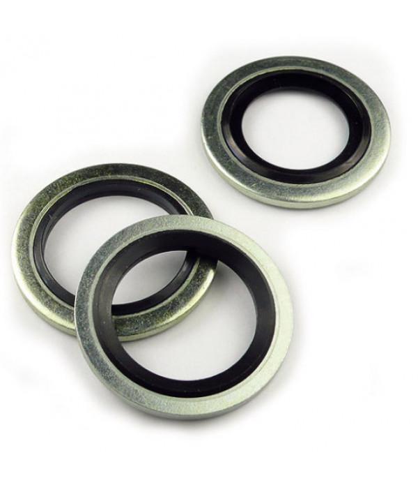 Кольцо уплотнительное металлорезиновое