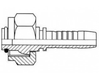 Прессуемые гидравлические наконечники Кархер (Karcher)